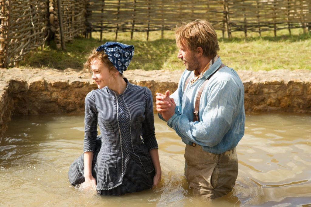 Bathsheba Everdene and Gabriel