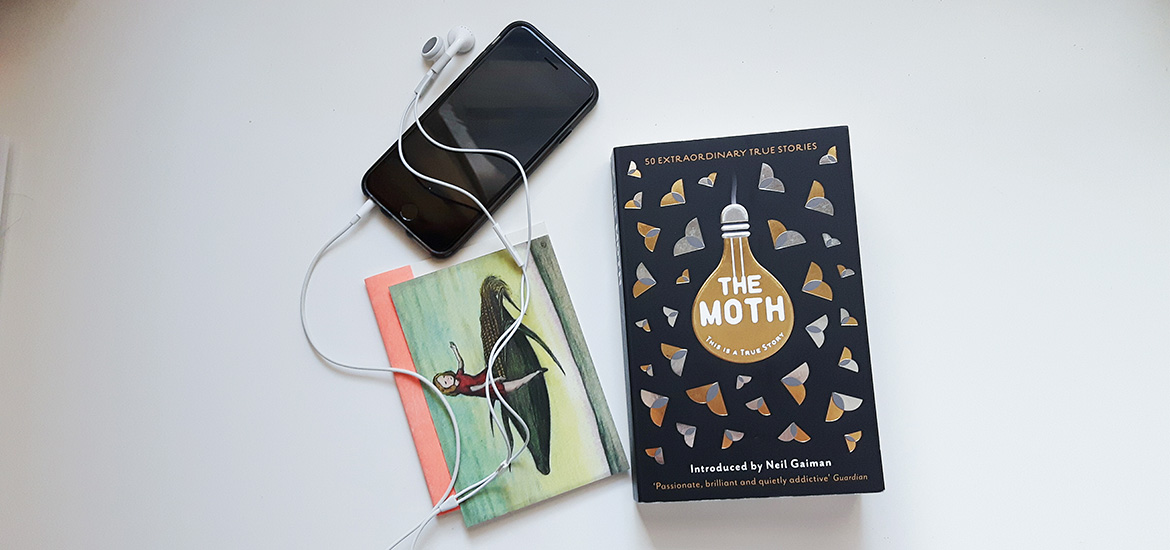 The Moth book by Catherine Burns